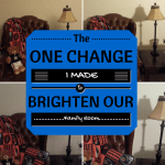 The One Change I Made to Brighten Our Family Room.