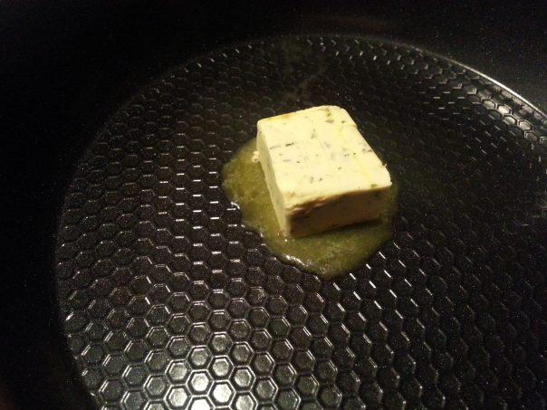 Kerry Gold Butter in Ozeri Green Earth Frying Pan