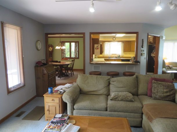 This is the layout of my house, before it was my house. And in the daylight. When it's less scary.