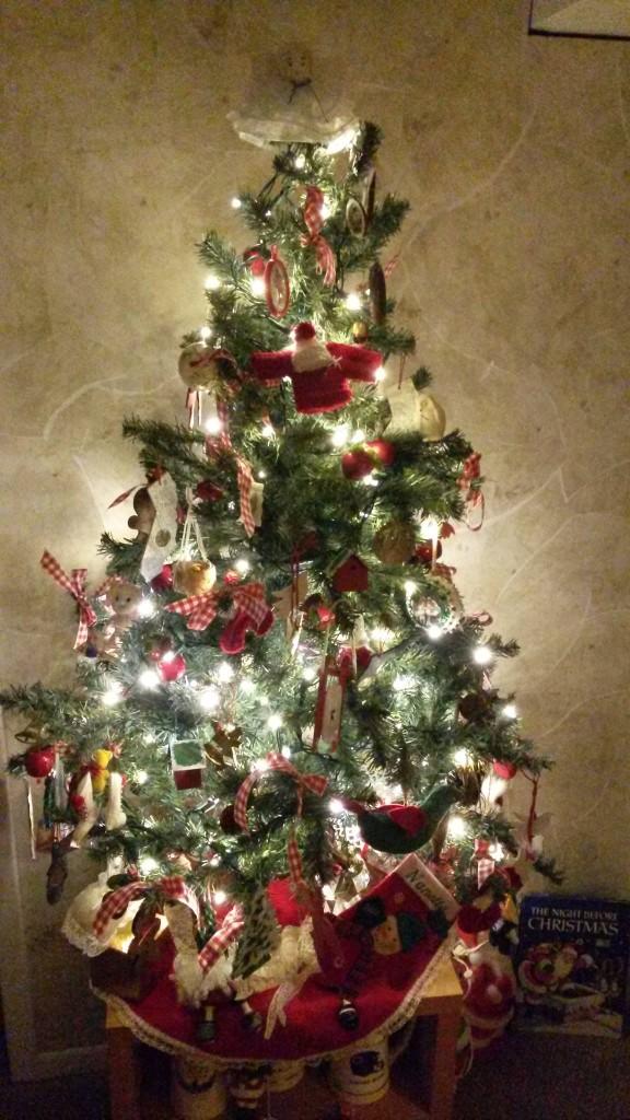 Handmade Ornament Tree
