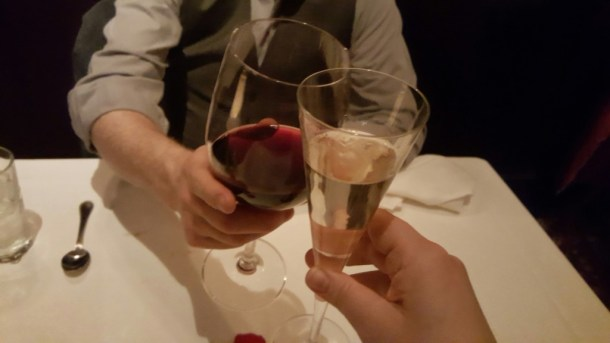 Marriage, champagne and red wine in a world of alternative facts