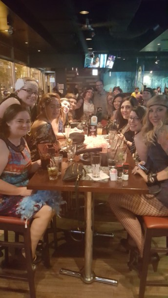 20s themed bachelorette party