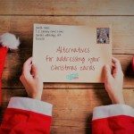 Alternatives to making your name plural on a holiday card