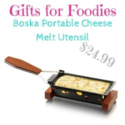 Gifts for foodies: Boska Portable Cheese Melt Utensil $25