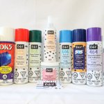 Adhesives and Sprays