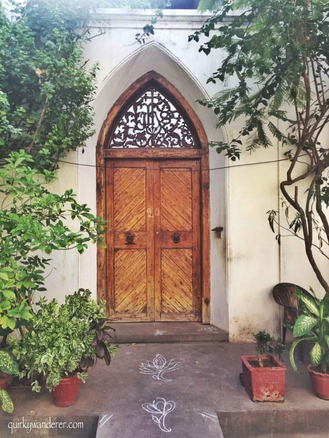 French quarters Pondicherry