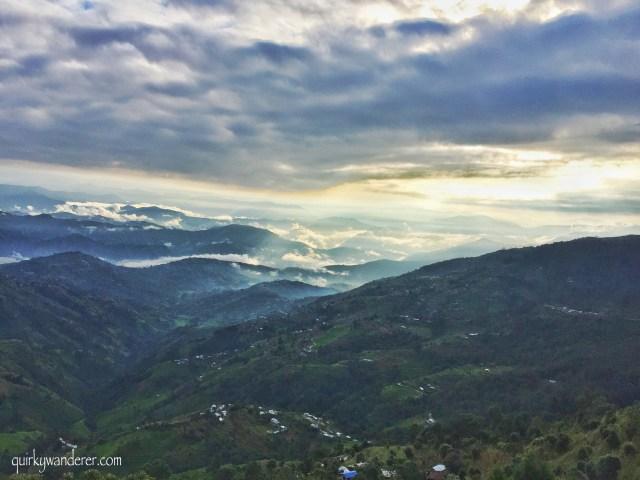 Nagarkot Nepal hills