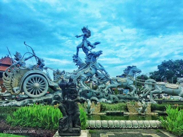 Gatotkach statue Bali