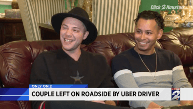Photo of Bajan de taxi Uber a pareja gay dominicana en Houston (Video)