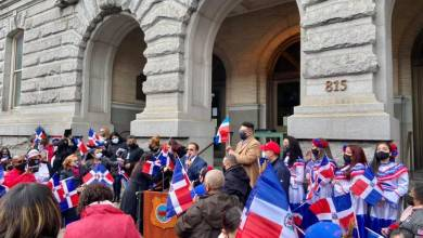 Photo of La Independencia dominicana bailó merengue en el City Hall de Reading (Video)