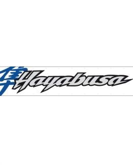 gsxr 1300 1999 first gen hayabusa blue banner