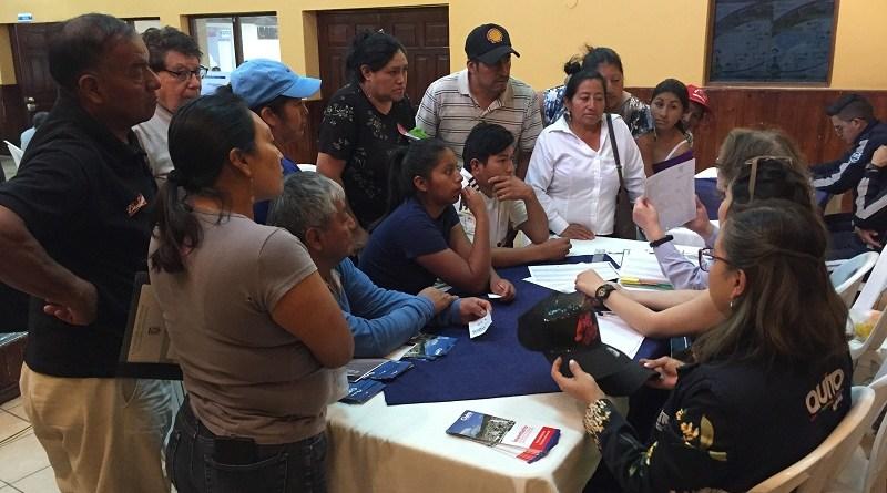 Esta semana Municipio Móvil visita la parroquia de Tababela