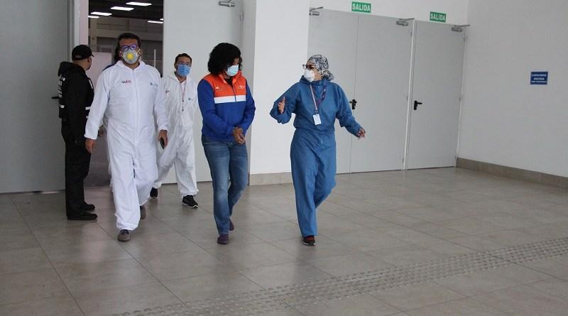 Recorrido Centro Quito Solidario con la Secretaria General de Gestión de Riesgos