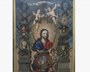 Alegoría del nombre de Jesús