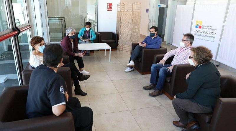 Visita delegación MSF al CAT