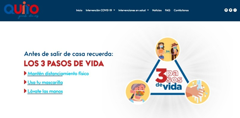 Plataforma virtual contra COVID-19