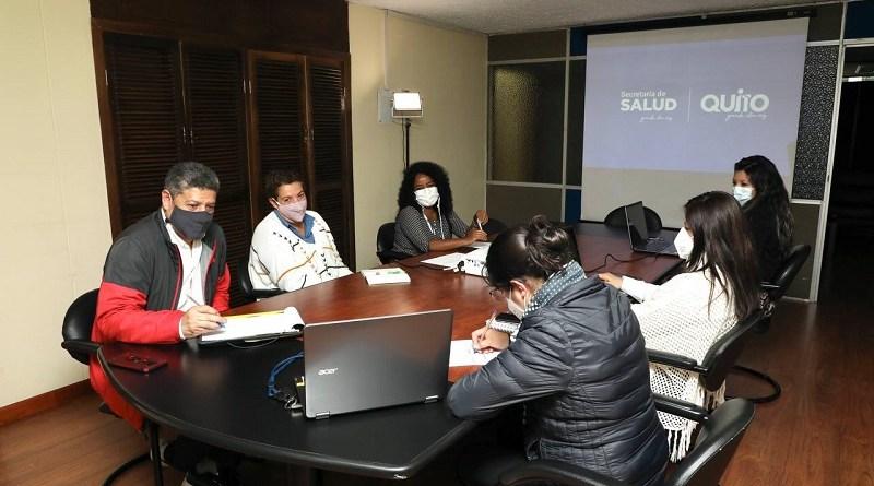 Reunión Médicos Sin Fronteras y Secretaría de Salud