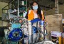 Patricia Huaico: combina la señalización de vías con el ejemplo a sus hijas