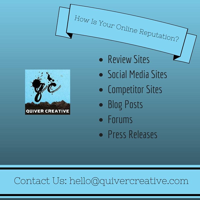 Brand Reputation - #QuiverCreative