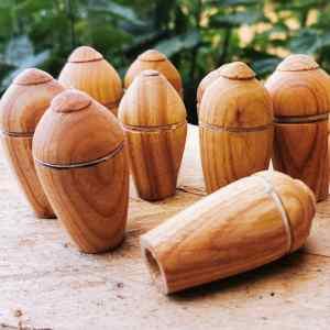 Medieval wooden blunt