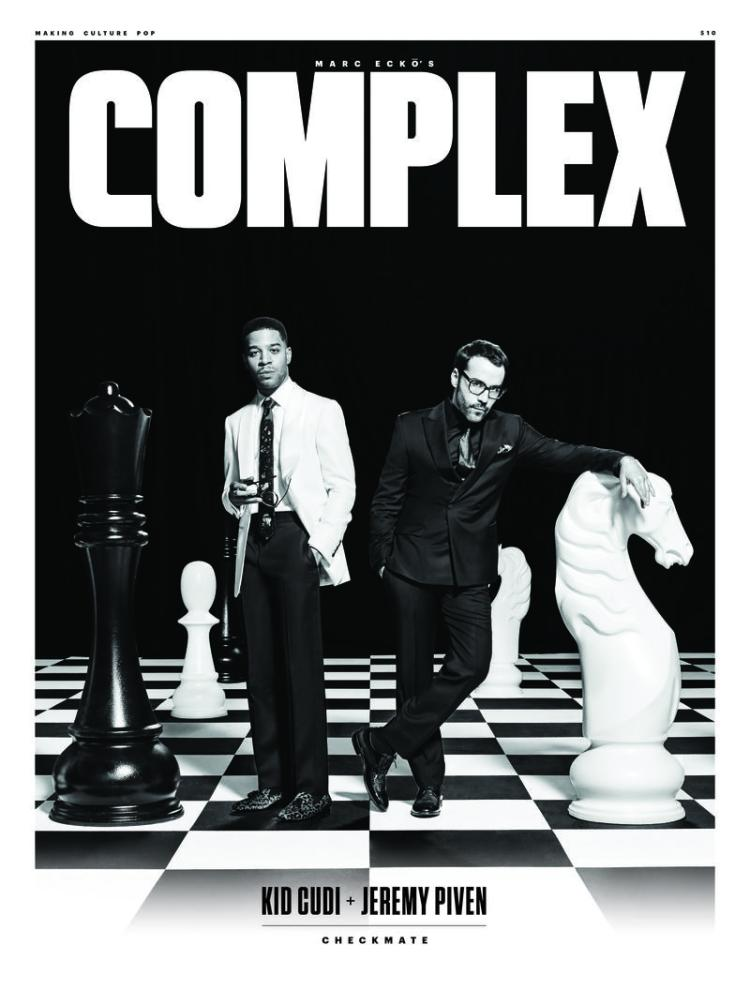 Jeremy Piven & Kid Cudi by JUCO for Complex