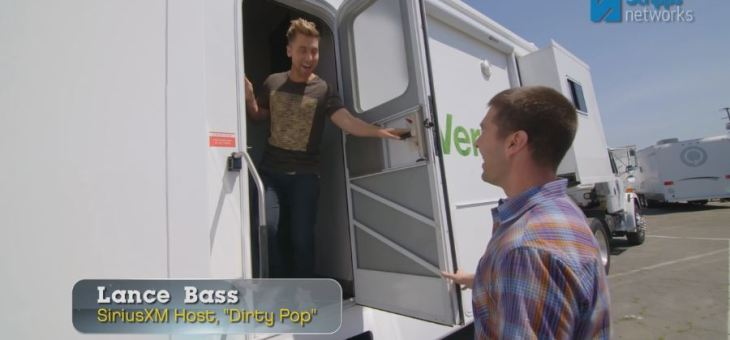 Lance Bass in the Star Verde