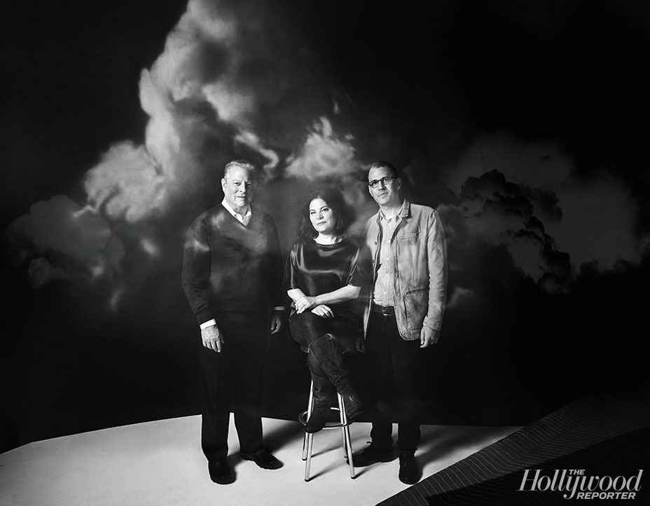 Shot at Quixote: Al Gore, Bonni Cohen and Jon Shenk by Koury Angelo for The Hollywood Reporter