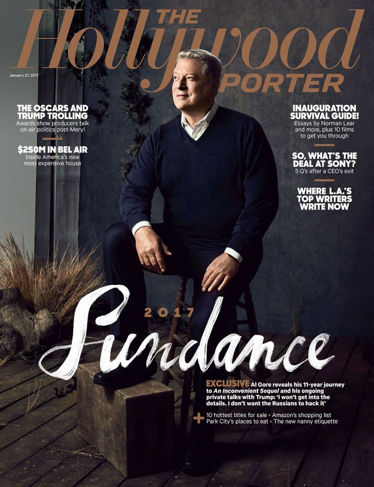 Shot at Quixote: Al Gore by Koury Angelo for The Hollywood Reporter