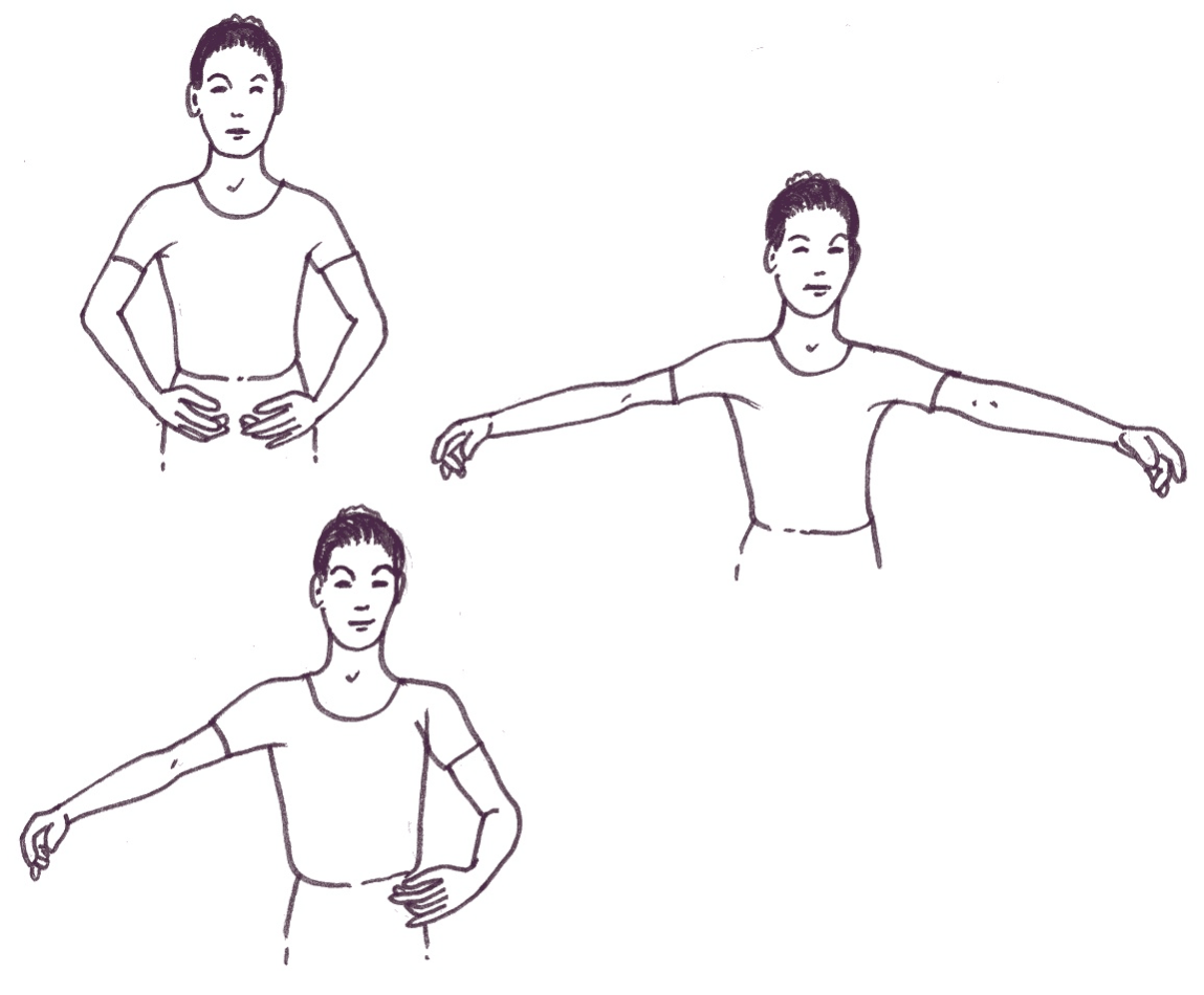 Basic Positions Dance Ballet By Openstax