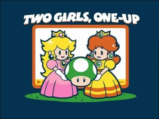 2girls1up