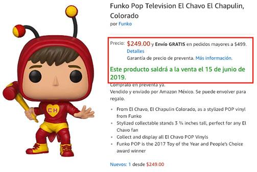 Funko Pop Chapulin Colorado