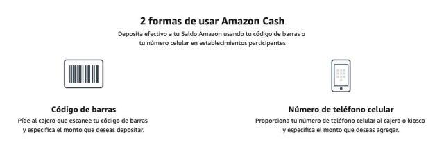 Recargas Amazon Cash