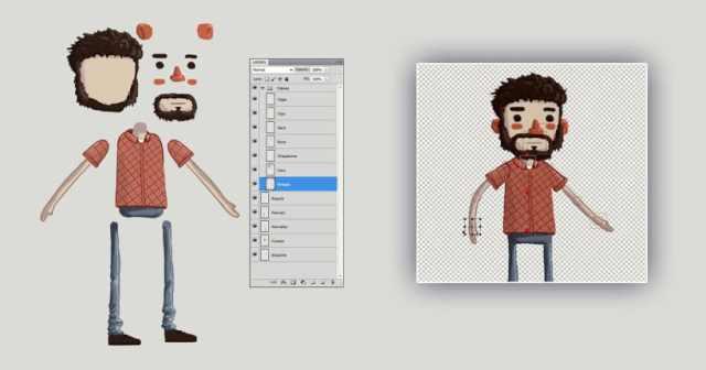 ilustrar personajes