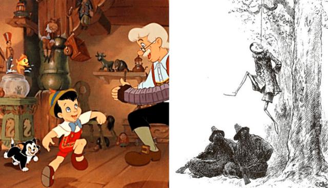 La trágica muerte de Pinocho