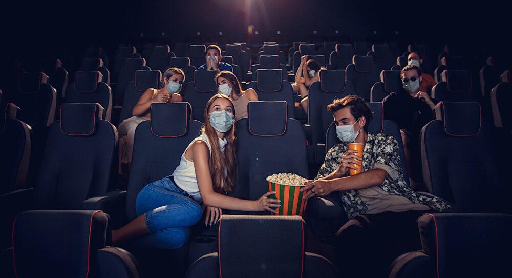 Sala de cine nueva normalidad