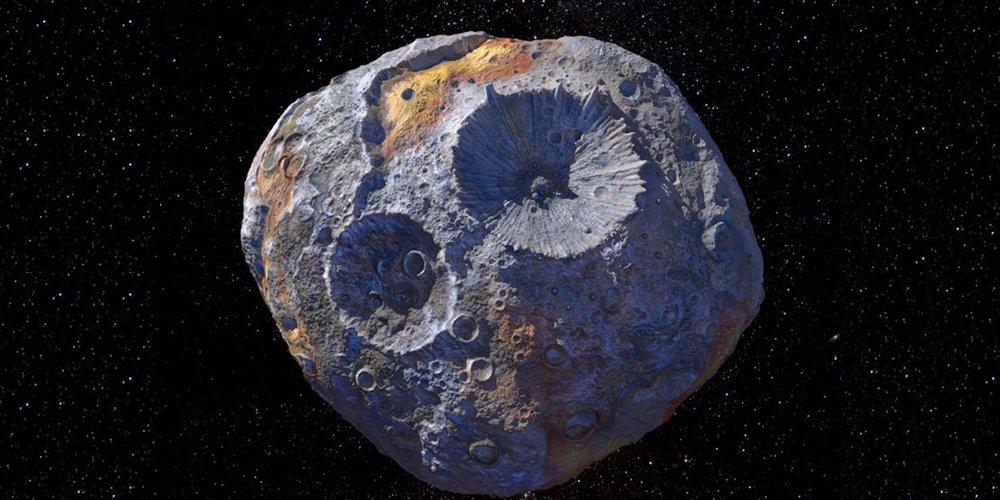 Psyque asteroide