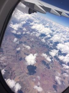 Grand Canyon vu de l'avion