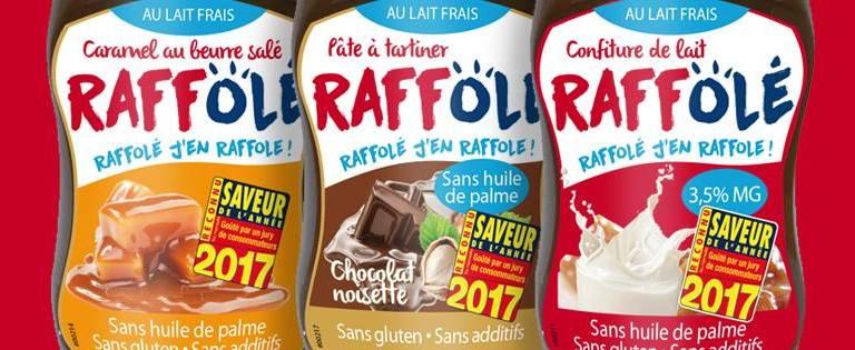J'ai testé les produits gourmands Raff'Olé