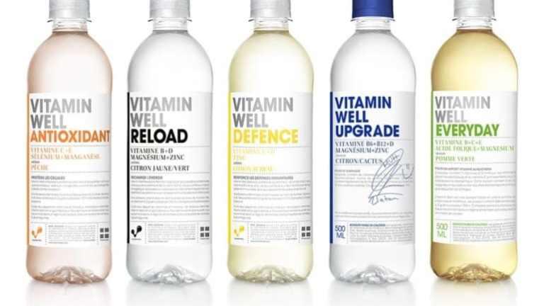 J'ai testé les boissons Vitamin Well France