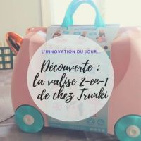 valise 2-en-1 Trunki - Train