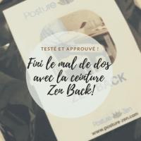 ceinture Zen Back - Ceinture