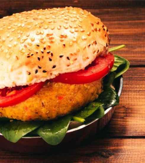 Quootip | Burger Vegetariano