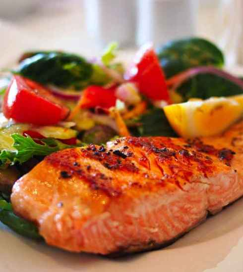 Quootip | Filetto di salmone con verdurine fresche