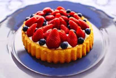 Quootip   Torta fragole Mirtilli