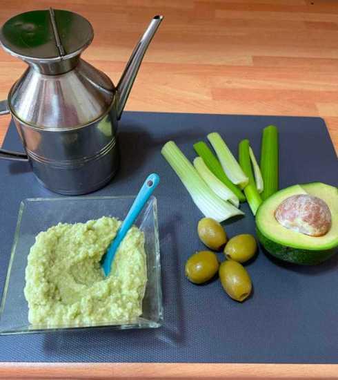 Quootip | Salsa Vegana avocado, sedano e olive