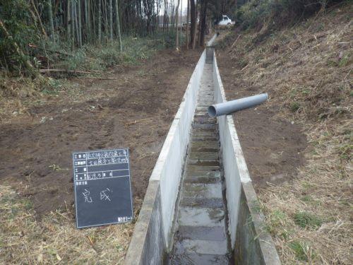大田原市上奥沢排水路改修工事