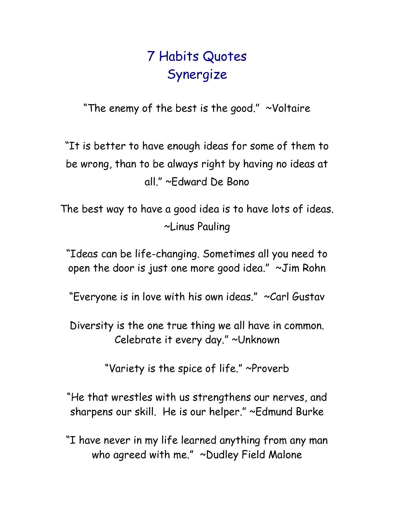 7 Habits Used In Quotes Quotesgram