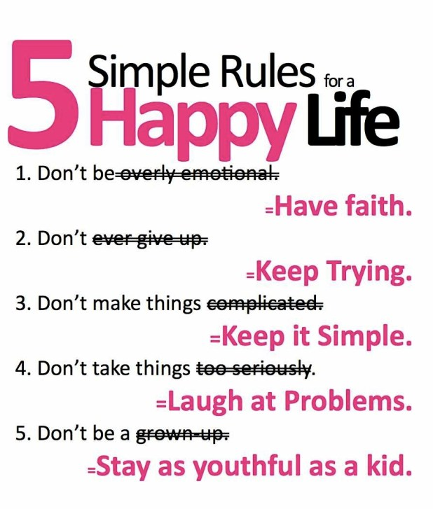 tips for a happy life essay