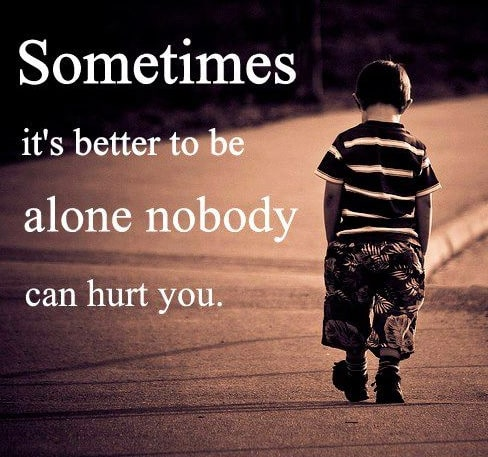 Image result for being alone quotes