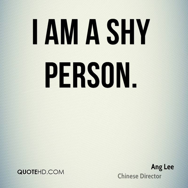 Quotes Shy People Funny